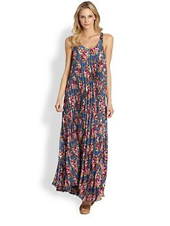 Zimmermann - Printed Silk Maxi Dress