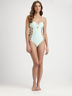 6 Shore Road - One-Piece Ricon Swimsuit
