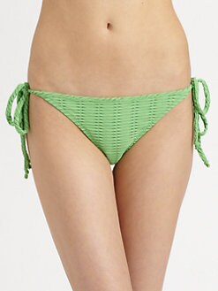 Rag & Bone - Cannes Textured Bikini Bottom