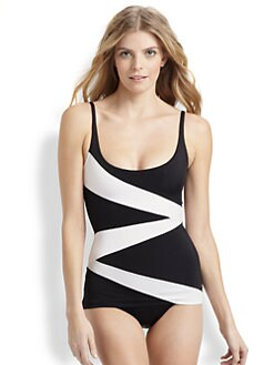 Norma Kamali - One-Piece Route 66 Scoop Swimsuit