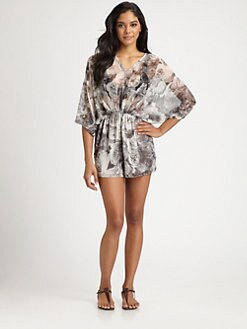 Zimmermann - Vapour Tuck Short Jumpsuit