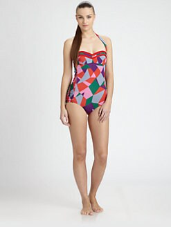 Marc by Marc Jacobs - Taboo Print One-Piece Swimsuit