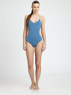 Marc by Marc Jacobs - Molly Reversible One-Piece Swimsuit