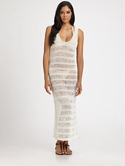 Onda De Mar Swim - Crocheted Maxi Dress Cover-Up