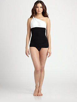 Norma Kamali - One-Shoulder One-Piece Swimsuit