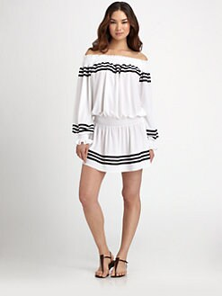 Norma Kamali - Peasant Mini Dress