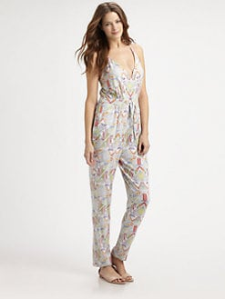 Mara Hoffman - Inca-Print Jumpsuit