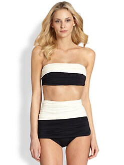 Clube Bossa - Two-Piece Colorblock Bandeau Swimsuit