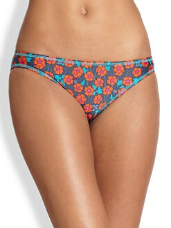 Marc by Marc Jacobs - Maysie Floral-Print Bikini Bottom