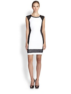 Bailey 44 - Lace-Trim Sheath