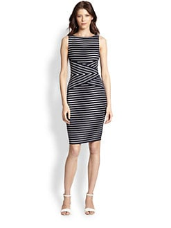 Bailey 44 - Contrast Stripe Bodycon Dress