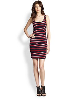 Bailey 44 - Tiered Stripe Bodycon Dress