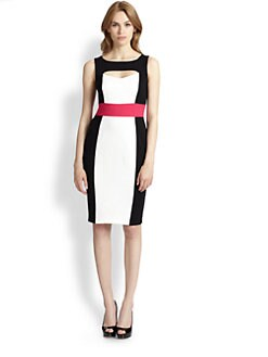 Bailey 44 - Colorblock Knit Sheath