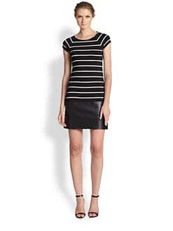 Bailey 44 - Jersey Stripe Contrast Dress