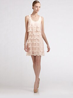 Ali Ro - Laser Cut Tier Dress