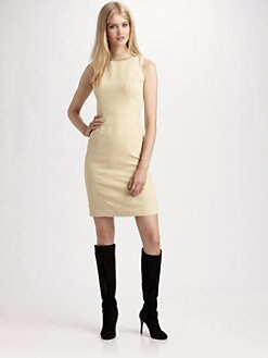 Lotusgrace - Microsuede Dress