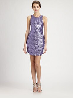 Ali Ro - Sequined Racerback Dress