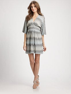 Ali Ro - Metallic Knit Dress