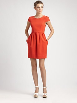 Shoshanna - Antonia Ponte Dress