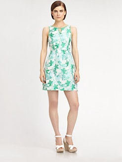 Ali Ro - Leaf Jaquard Dress