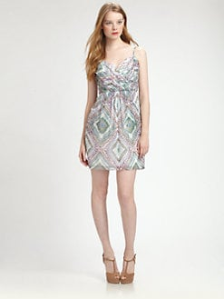 Shoshanna - Martinique Silk Dress
