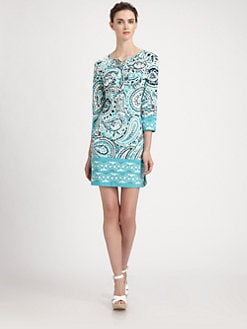 Ali Ro - Paisley Jersey Dress