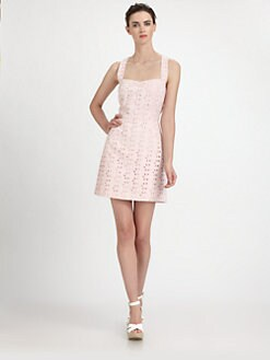Ali Ro - Eyelet Racerback Dress