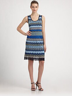 Laundry by Shelli Segal - Zigzag Knit Dress
