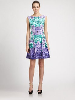 Laundry by Shelli Segal - Mirror Print Dress