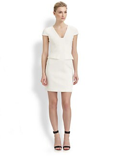 4.collective - Ponte Peplum Dress