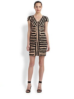 4.collective - Geo Zebra Dress