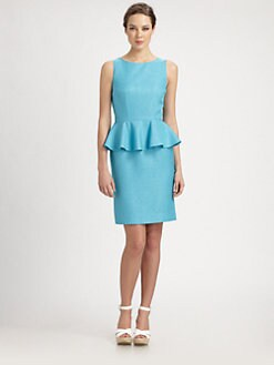 Lotusgrace - Peplum Dress