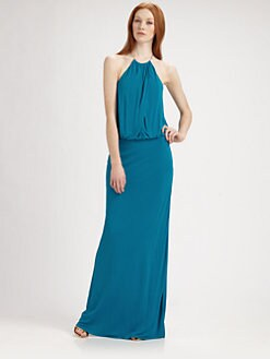 Trina Turk - Necklace Halter Gown