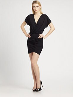 Ali Ro - Faux Wrap Dress