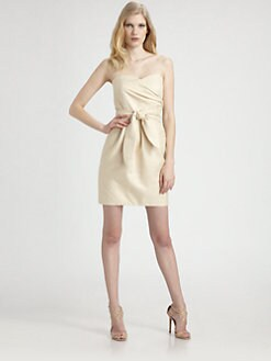 Shoshanna - Metallic Jacquard Sylvie Dress