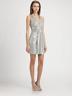 B44 DRESSED - Metallic Shark Dress