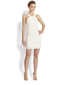 Ali Ro - Tiered Lace Dress