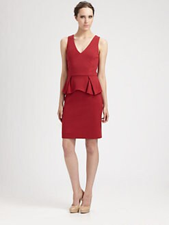 Trina Turk - Ponte Peplum Dress