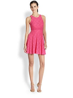 Laundry by Shelli Segal - Lace Racerback Dress