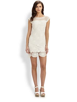 Trina Turk - Lucero Crocheted Cotton Dress