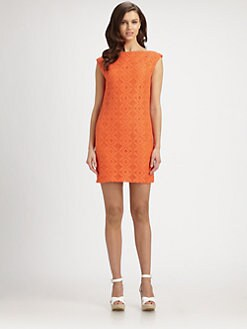Trina Turk - Almost Paradise Graphic Lace Dress