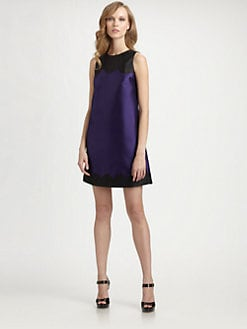 Lotusgrace - A-Line Scallop Dress