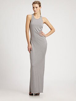 Ali Ro - Striped Maxi Dress