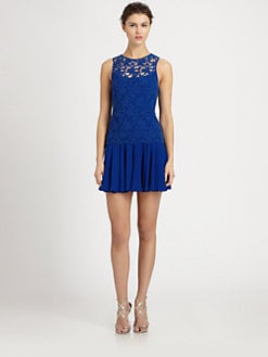 Ali Ro - Sleeveless Crochet Dress