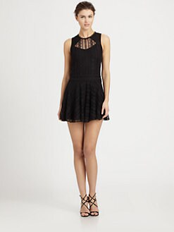 Ali Ro - Lace Flared Dress