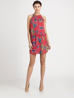 Ali Ro - Floral Halter Dress