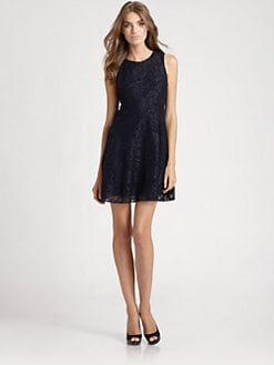 Ali Ro - Belted Lace Dress