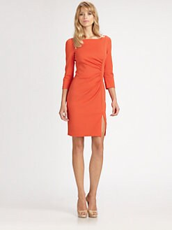 Trina Turk - Ruched Ponte Dress