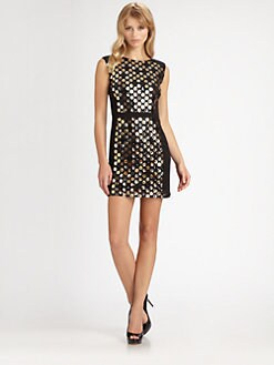 Ali Ro - Sequined Dot Dress