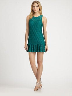 Ali Ro - Eyelet Lace Dress